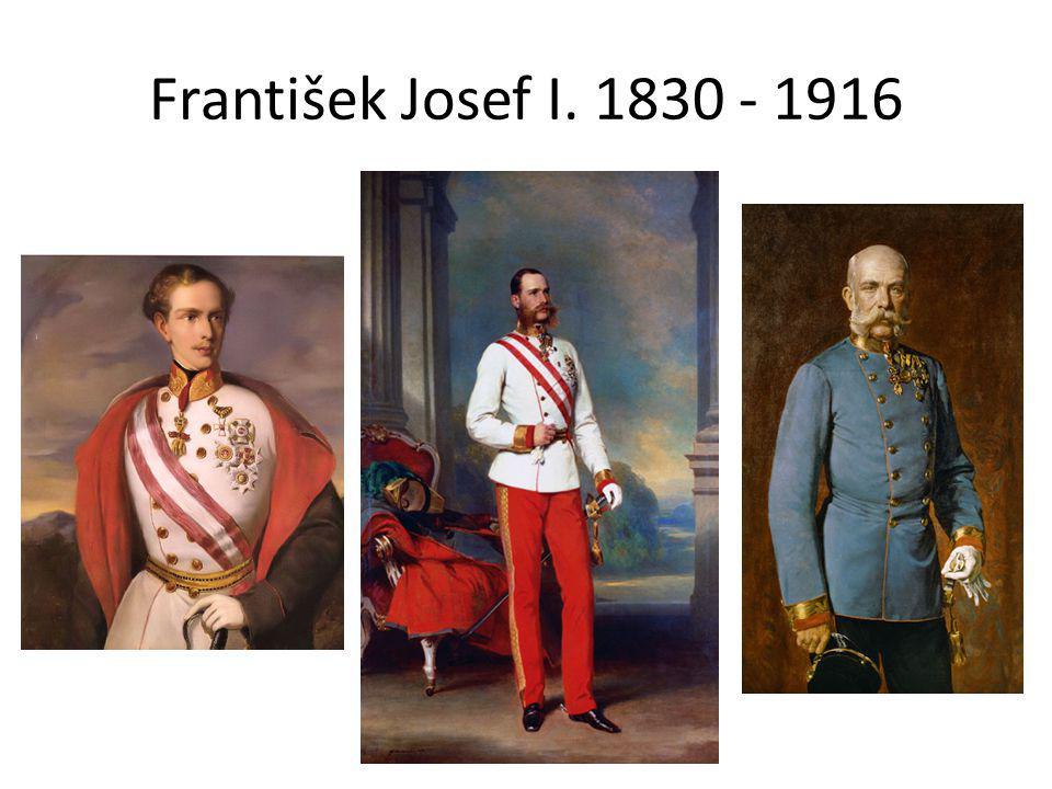František Josef I. 1830 - 1916