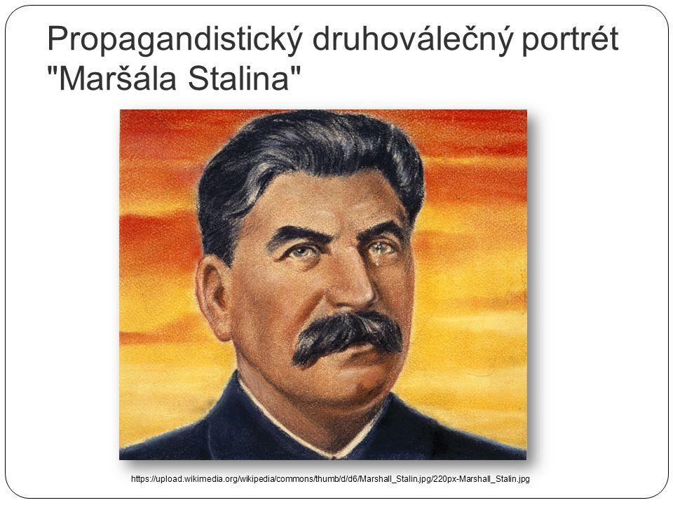SSSR – posílení Stalinovy pozice - posílen vítězstvím ve válce nad Německem - neomylný vůdce, diktátor - spolupráce s komunistickou Čínou a Koreou - r