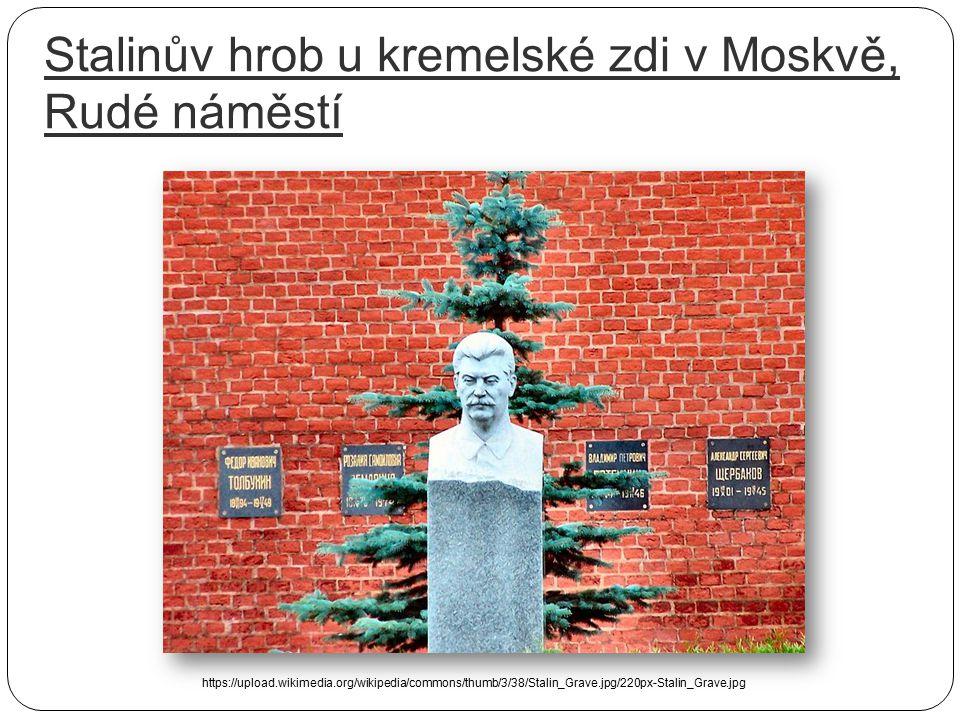"""Smrt Stalina – 5. 3. 1953 """"Pravděpodobně 1. března byl ale raněn mrtvicí. Přesný čas není znám, protože Stalin byl zavřen ve svém pokoji a jeho strážc"""