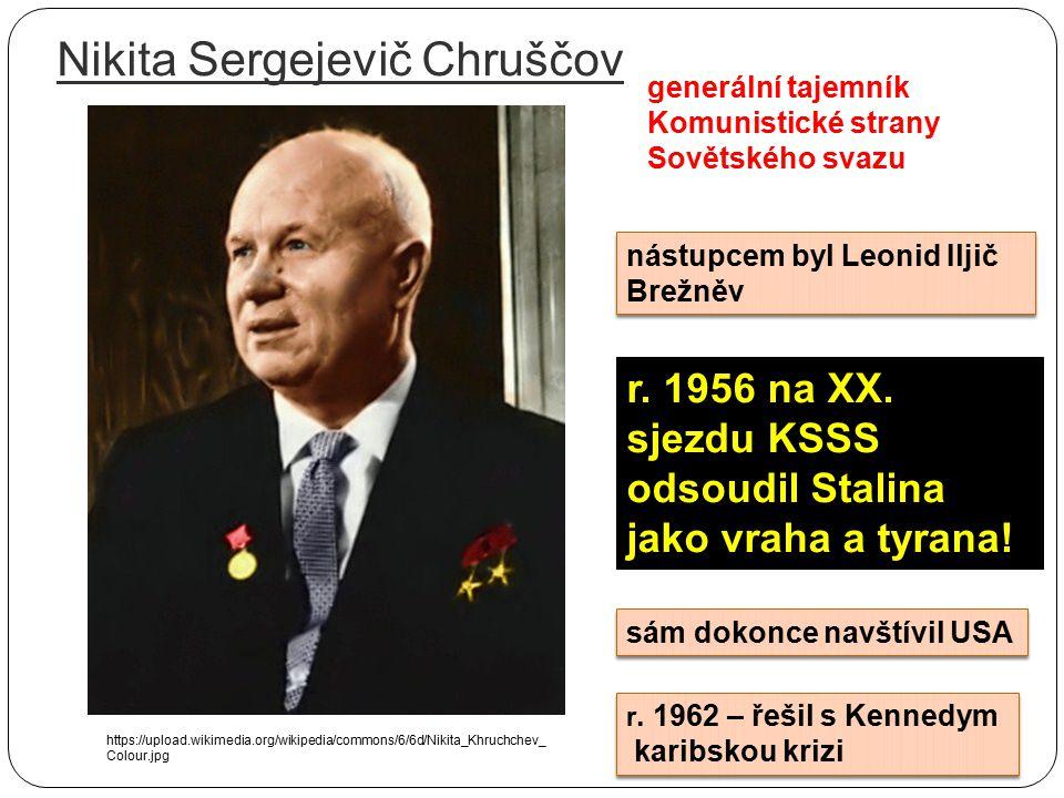 Tání, předzvěst lepších časů, destalinizace např. kremelských lékařů dalších osob z gulagů (10 000 osob do r. 1955) Propouštění vězňů Lavrentij Berija