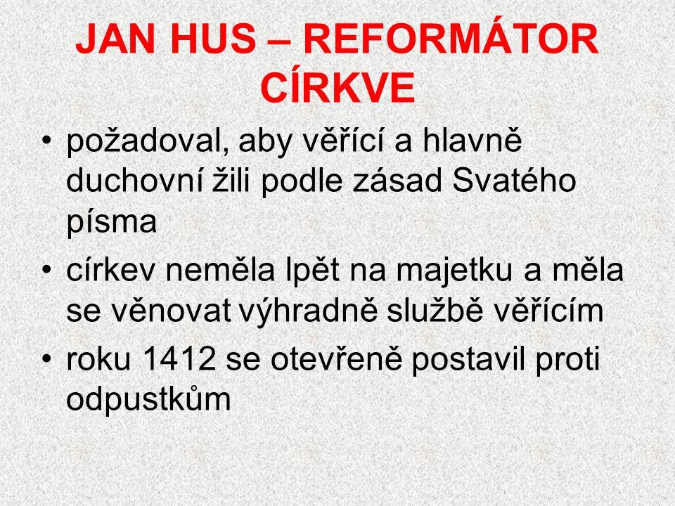 Co vedlo ke vzniku husitské revoluce.Kdo byl Mistr Jan Hus.