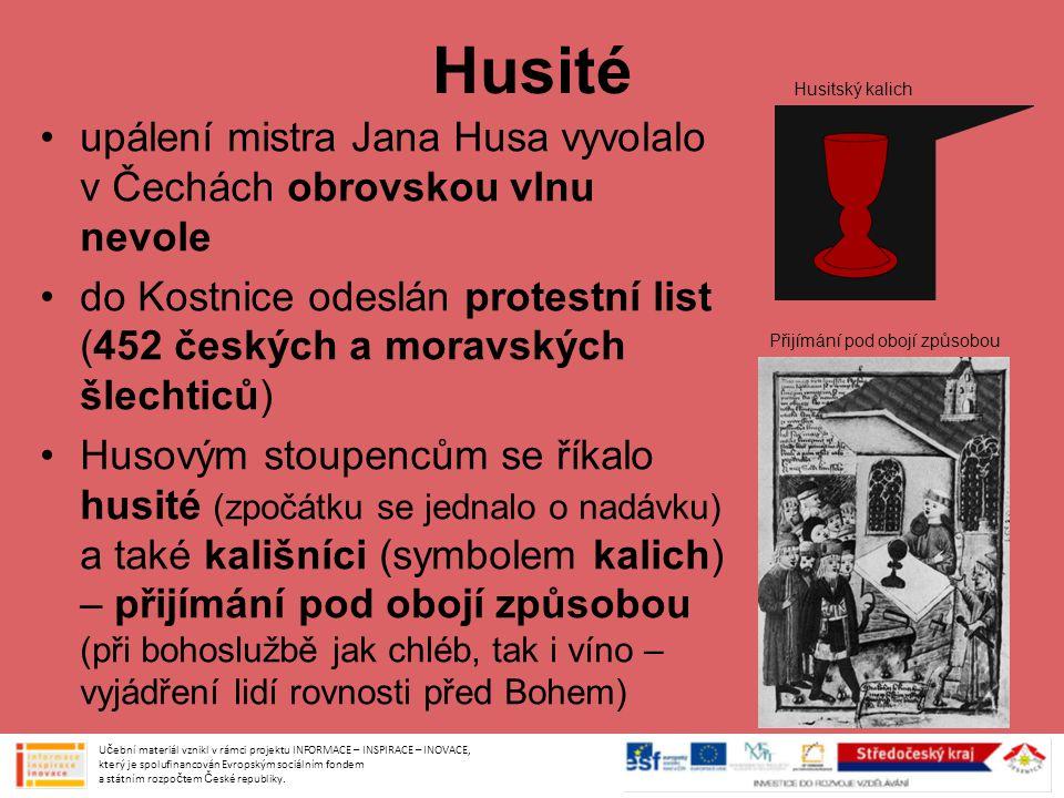 Husitské zbraně původně selská náčiní (cepy, kosy apod.), která byla upravena – např.
