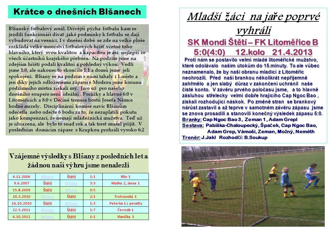 Blšanský fotbalový areál. Dřívější pýcha fotbalu kam se jezdili funkcionáři dívat,jaké podmínky k fotbalu se dají vybudovat na vesnici. I v dnešní dob