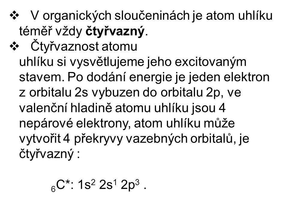 Pravidla pro tvoření názvů necyklických uhlovodíků 1.