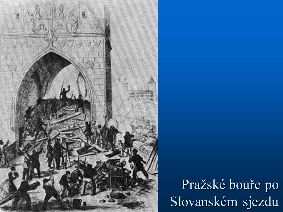 Pražské bouře po Slovanském sjezdu