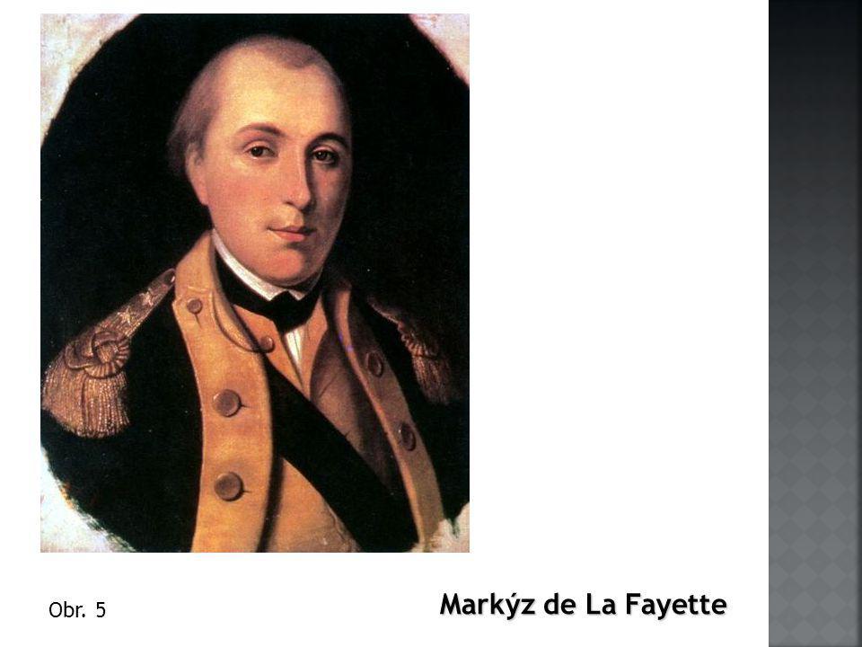 Markýz de La Fayette Obr. 5