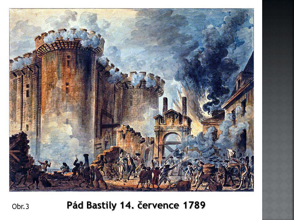 Pád Bastily 14. července 1789 Obr.3