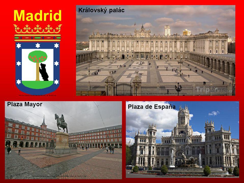 Madrid Královský palác http://www.tripzone.cz/content_img_cs/001/kralovsky-palac-palacio-real-de-madrid-w-1885.jpg Plaza Mayor http://upload.wikimedia