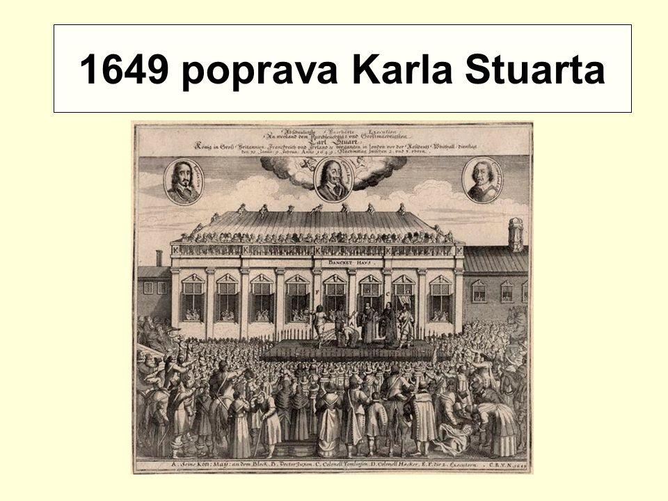 1649 poprava Karla Stuarta