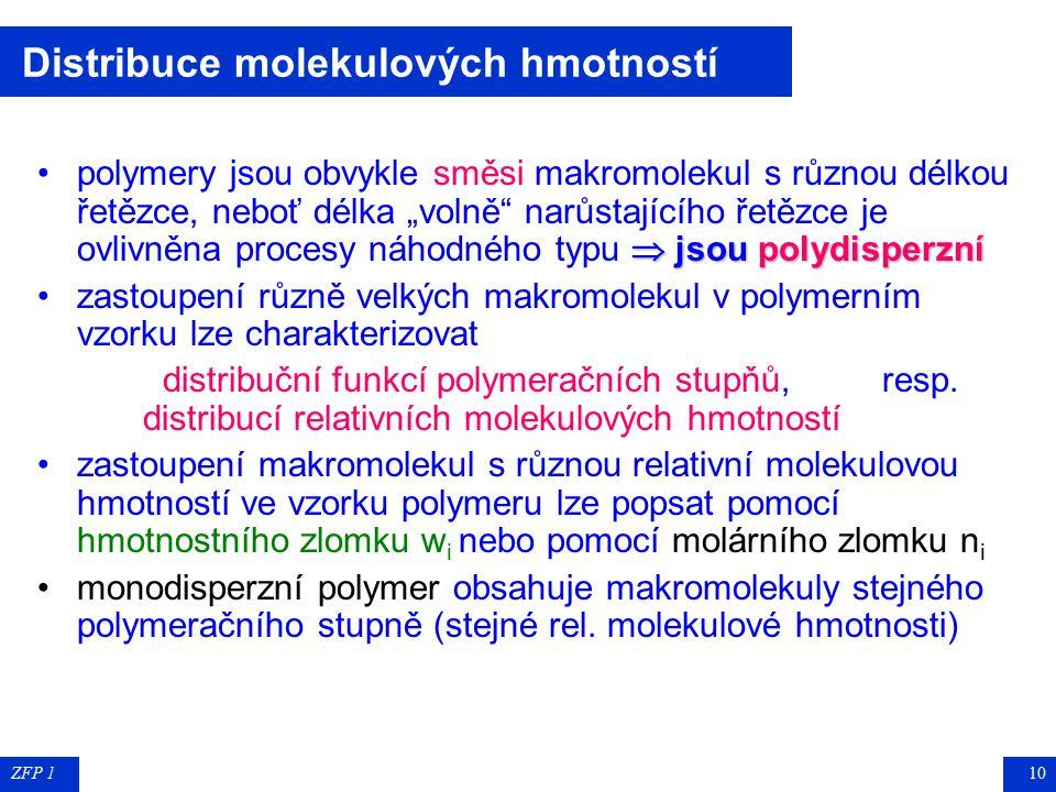 ZFP 19 Některé technicky významné polymery Některé technicky významné polymery poly(ethylentereftalát) poly(ethylentereftalát) PETP (Tesil, Slotera, T