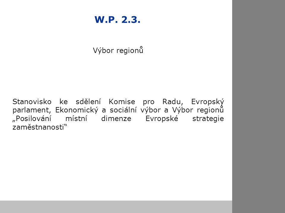W.P. 2.3.
