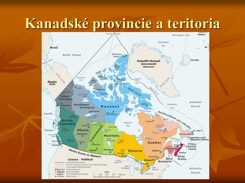Podnebí V Kanadě je mírný, subpolární a polární teplotní pás.