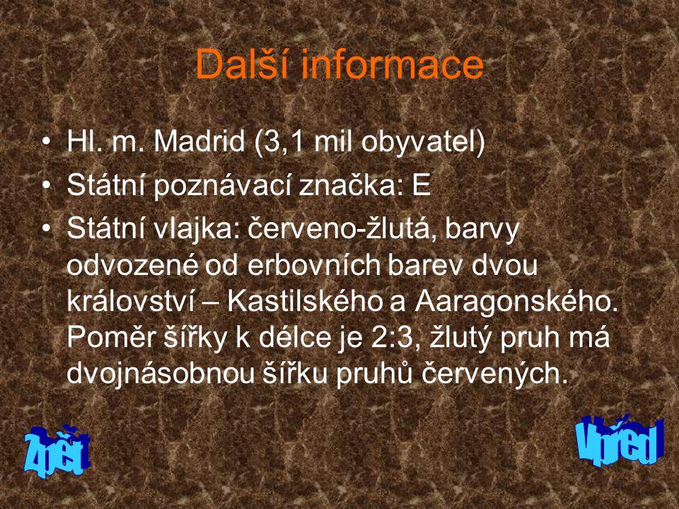 Další informace Hl.m.