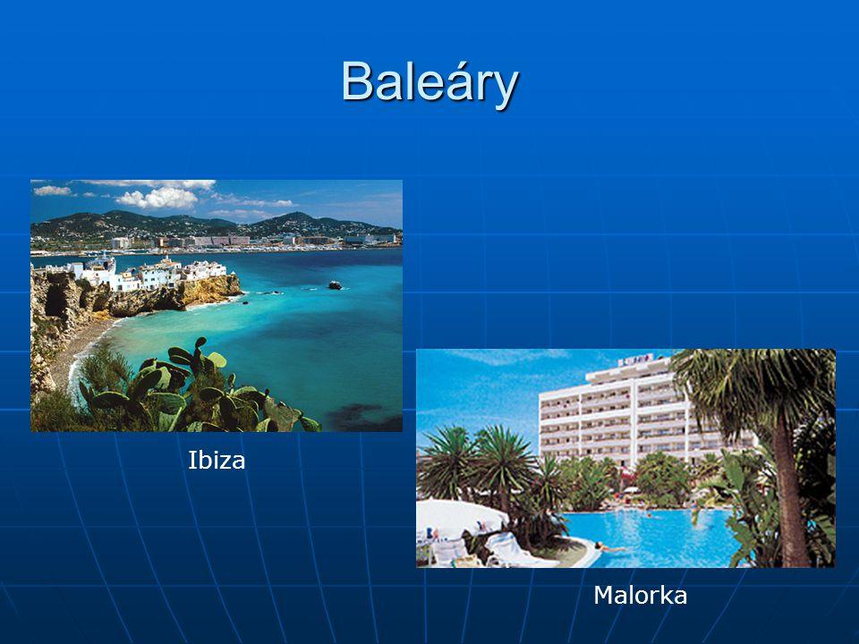 Baleáry Ibiza Malorka