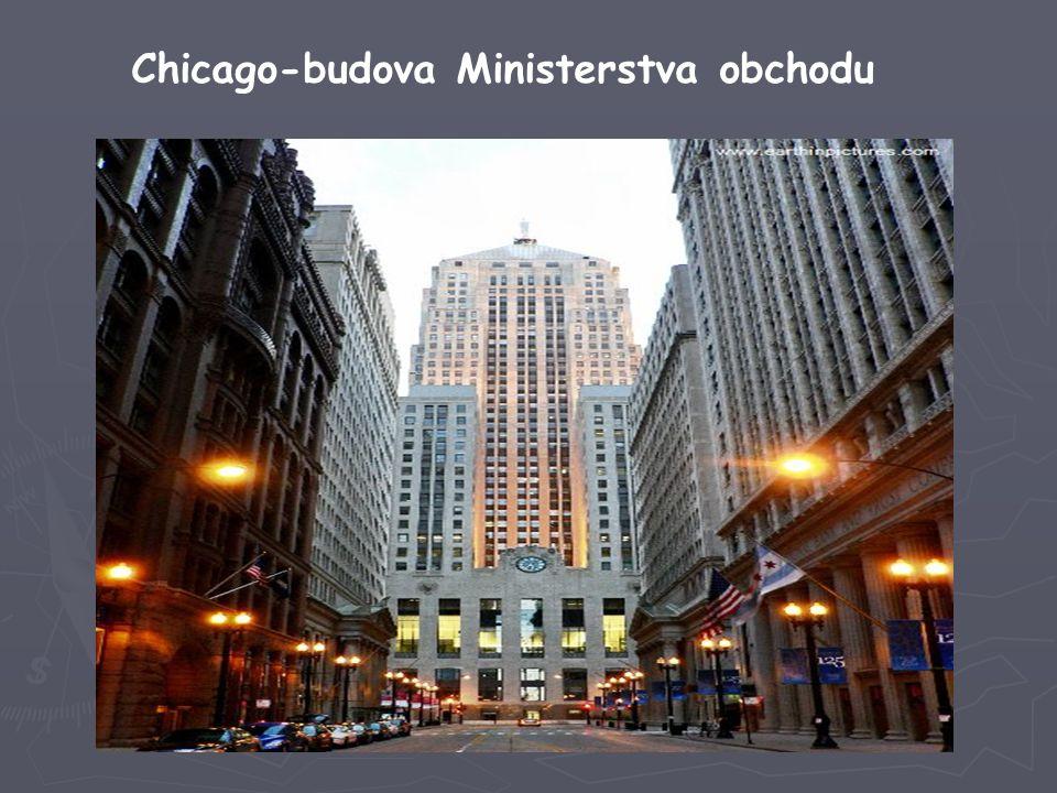 Chicago-budova Ministerstva obchodu