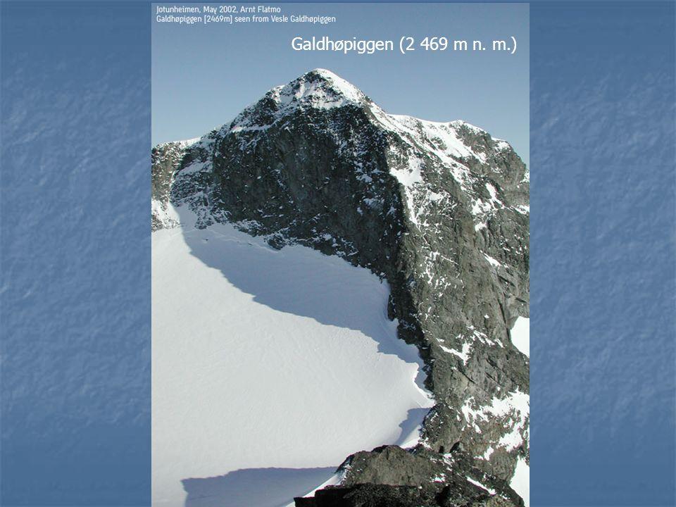 Galdhøpiggen (2 469 m n. m.)