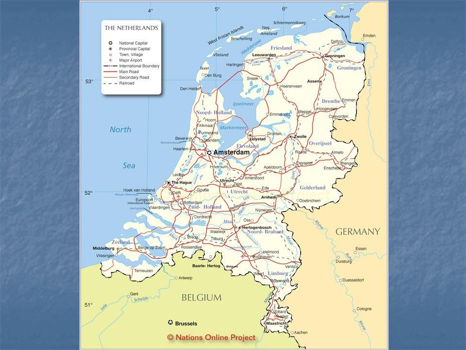 Nizozemsko - oficiálně Nizozemské království konstituční monarchie – vzniká 23.