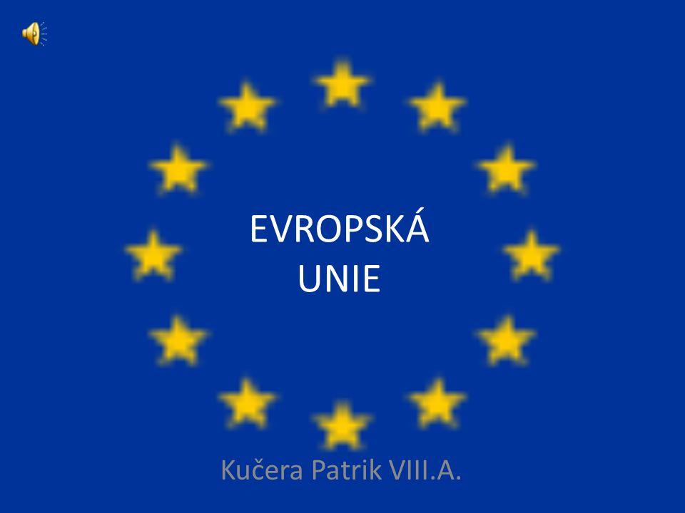 EVROPSKÁ UNIE Kučera Patrik VIII.A.