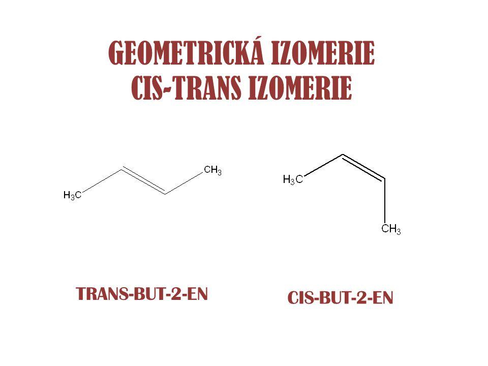 POLOHOVÁ IZOMERIE 1-CHLORPROPAN2-CHLORPROPAN