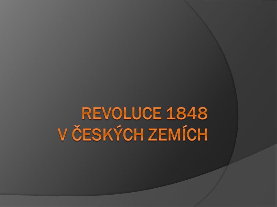 Předbřeznové poměry  vláda nepřipouští žádné snahy o liberalizaci  postupně se zvyšuje sebevědomí českého liberálního měšťanstva  probouzení národního cítění (politické požadavky v poslední fázi národního obrození)