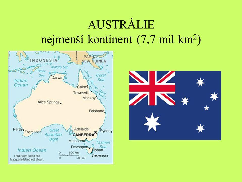 Vyber správné tvrzení: Po příchodu Evropanů do Austrálie … A.… značná část Aboriginců vymřela – byli zajati, nebo onemocněli evropskými chorobami B.… populace Aboriginců vzrostla – zvýšila se jim kvalita života, lepší lékařská péče.