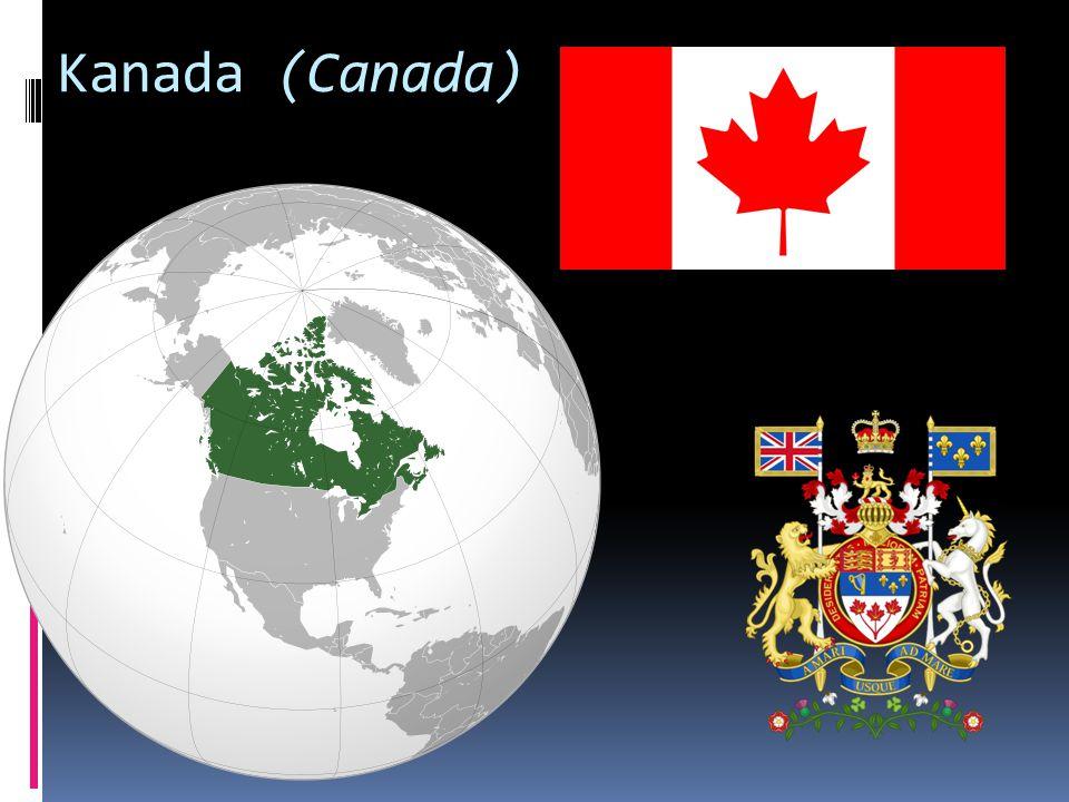 Kanada – základní údaje  Hlavní město: Ottawa  Rozloha: 9 984 670 km² (2.