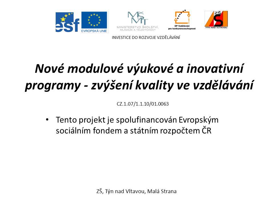 VFBR - úkoly Dějepis – 8. ročník Mgr. Jana Říhová