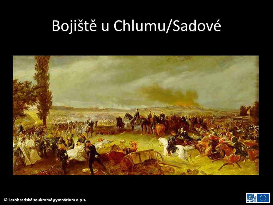 © Letohradské soukromé gymnázium o.p.s. Bojiště u Chlumu/Sadové