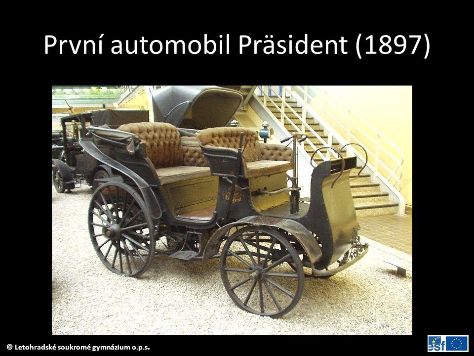První automobil Präsident (1897)