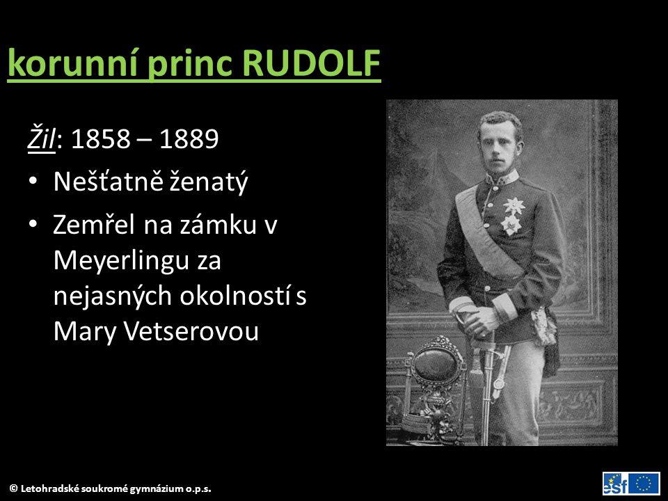 © Letohradské soukromé gymnázium o.p.s.1849 – 1859 obd.