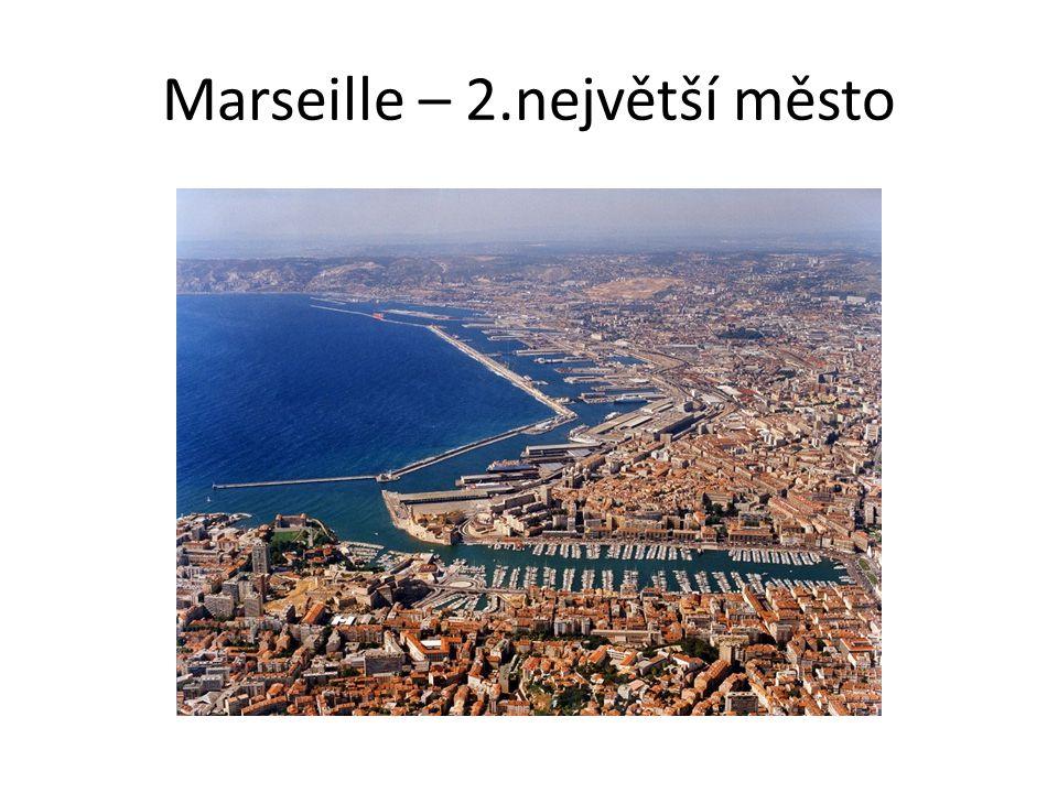 Marseille – 2.největší město