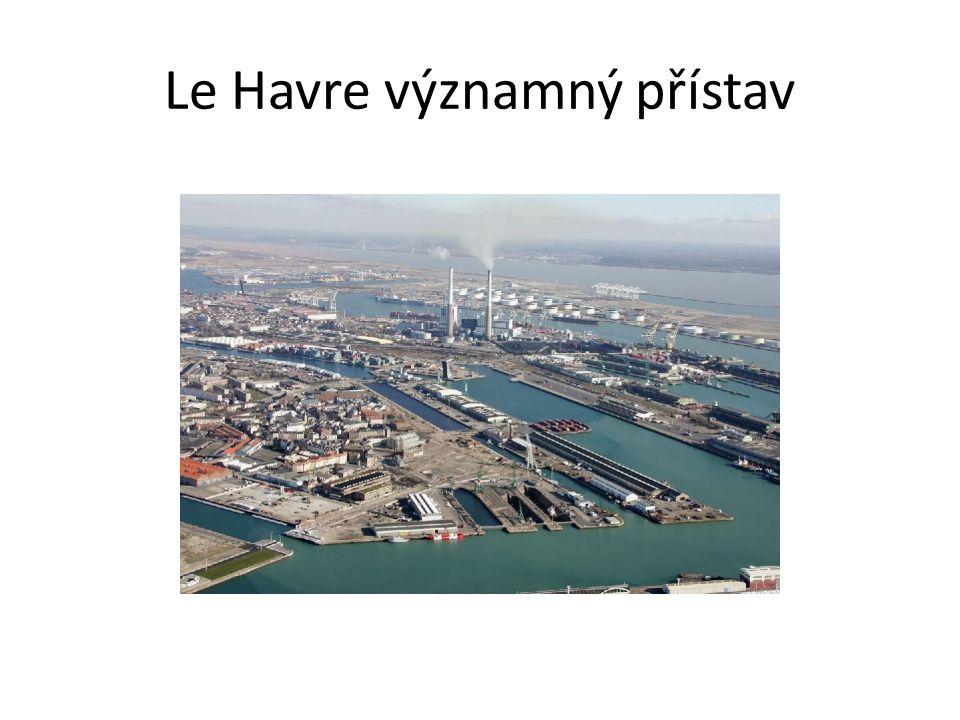 Le Havre významný přístav