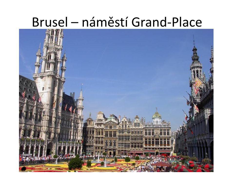 Brusel – náměstí Grand-Place