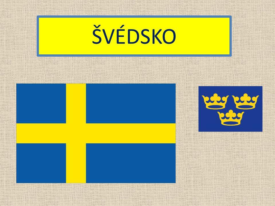 Státní zřízení: Hlavní město: 9 miliónů Švédská koruna švédština Konstituční monarchie Měna: Rozloha: Počet obyvatel: Úřední jazyk: 450000 km² Základní údaje: Stockholm