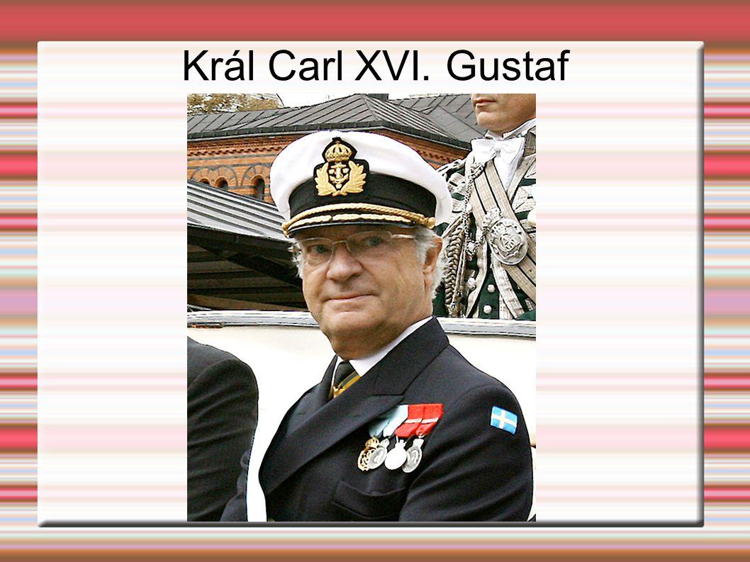 Král Carl XVI. Gustaf