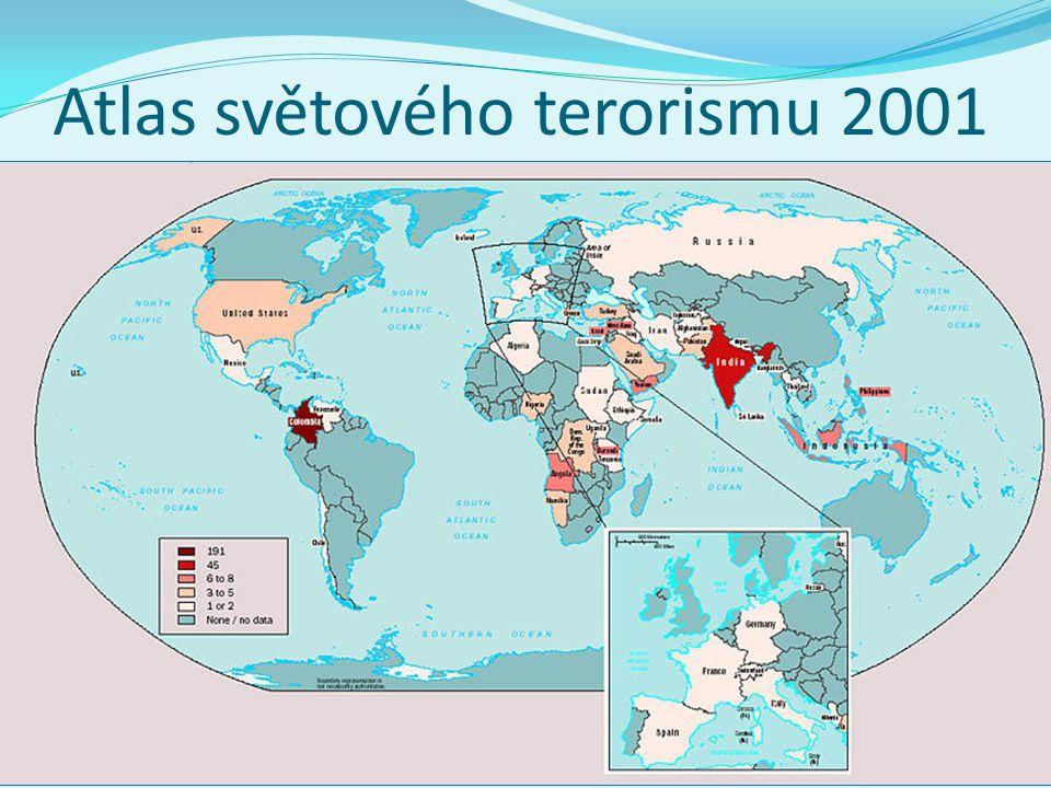 Atlas světového terorismu 2001 1 Sociální politika v mezinárodním kontextu. Jabok / ETF, 2013. Michael Martinek24