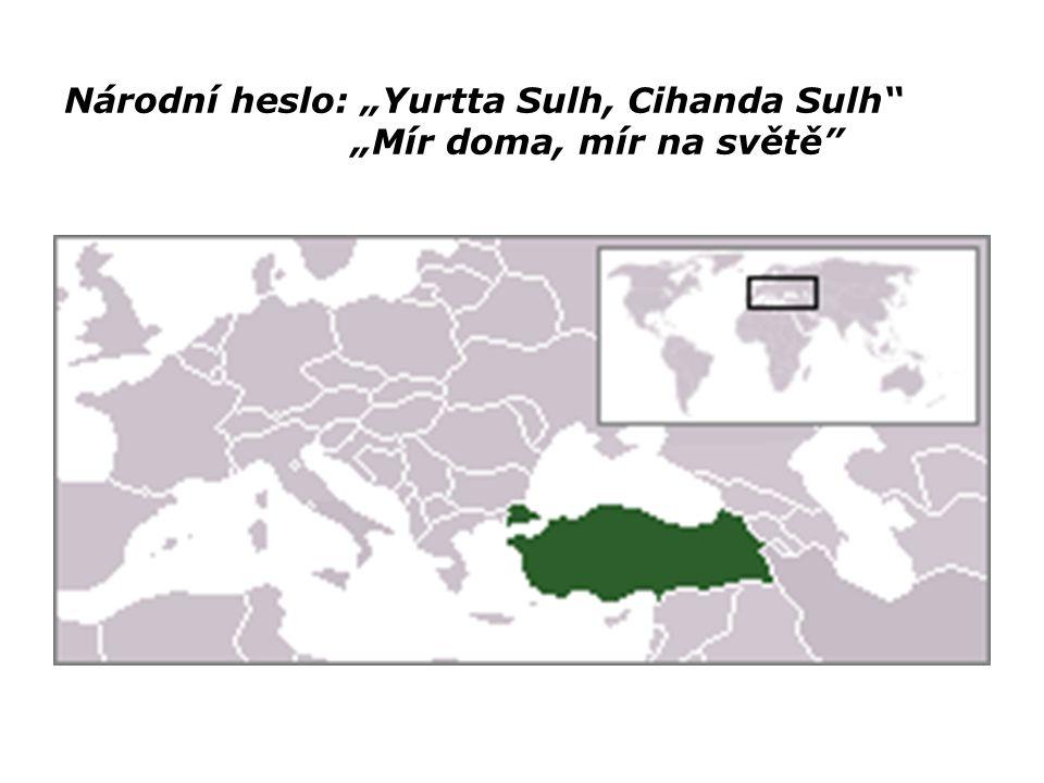 ADMINISTRATIVNĚ-SPRÁVNÍ ČLENĚNÍ V roce 1923 byla uzavřena Lausannská smlouva, která uznala Turecko jako suverénní stát a byly stanoveny jeho pevné hranice.