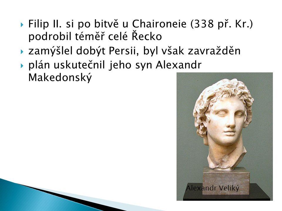  Filip II.si po bitvě u Chaironeie (338 př.