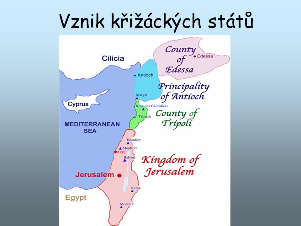 Vznik křižáckých států