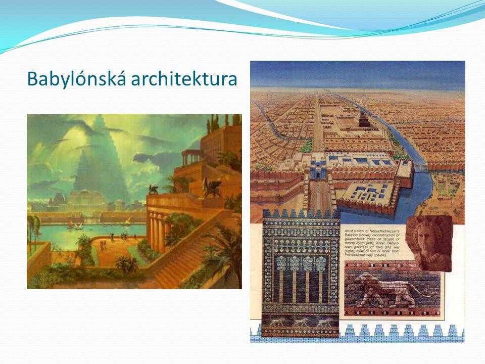 Babylónská architektura
