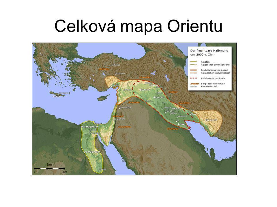 Celková mapa Orientu
