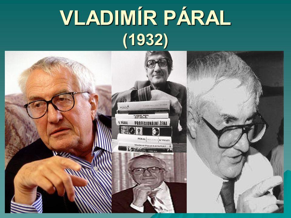 VLADIMÍR PÁRAL (1932)