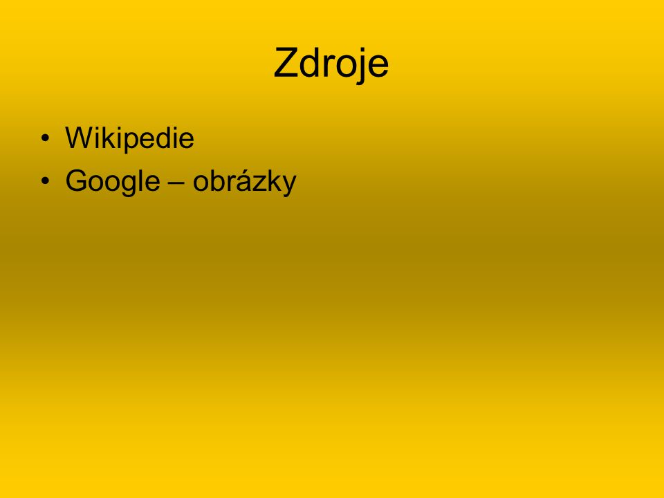 Zdroje Wikipedie Google – obrázky
