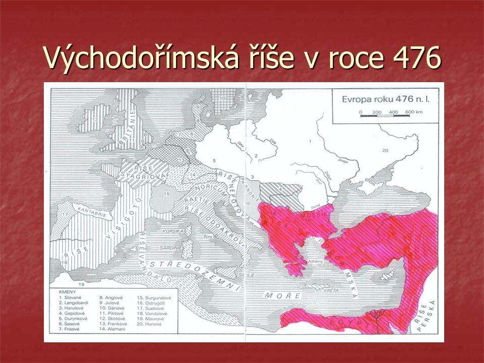 Východořímská říše v roce 476