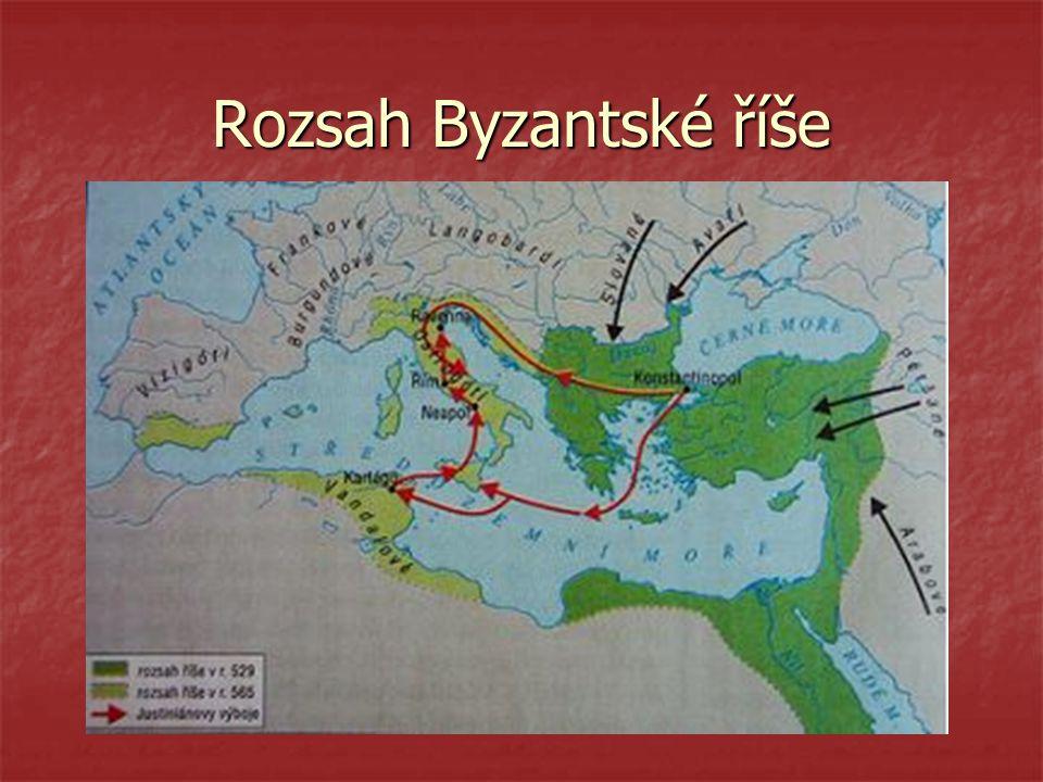 Rozsah Byzantské říše