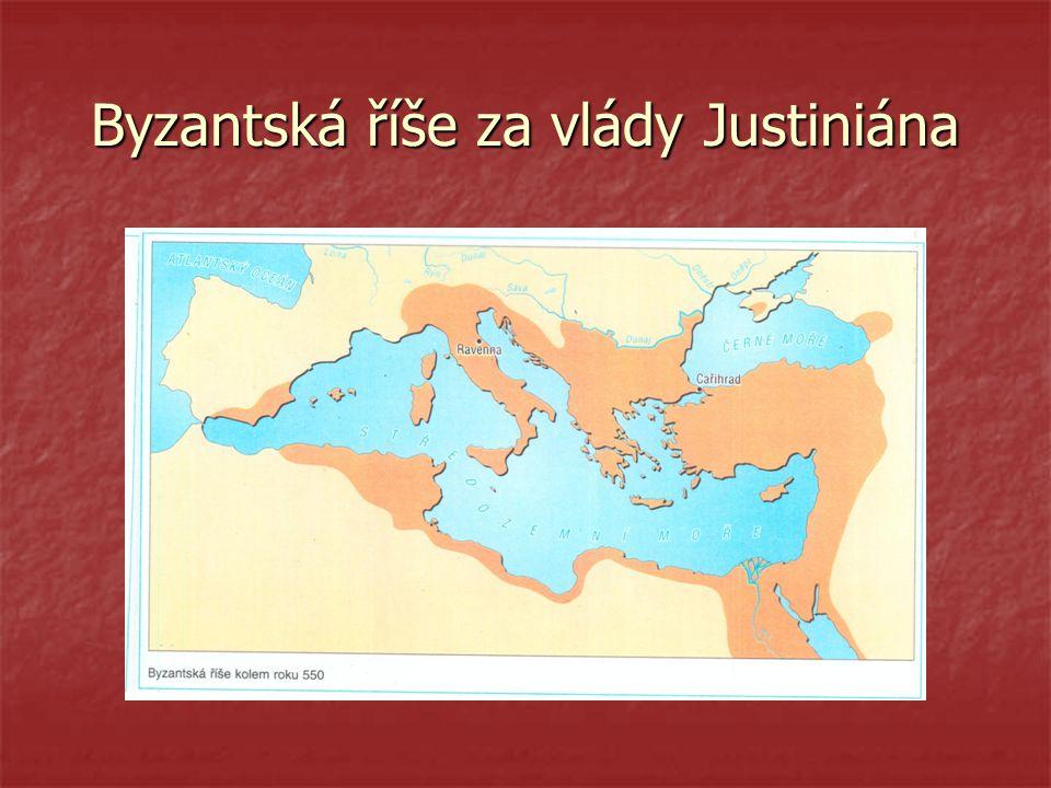 Byzantská říše za vlády Justiniána