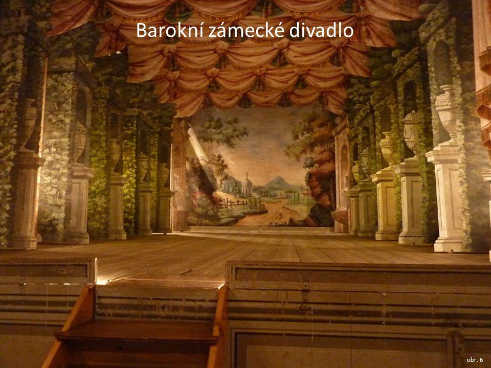 Barokní zámecké divadlo obr. 6