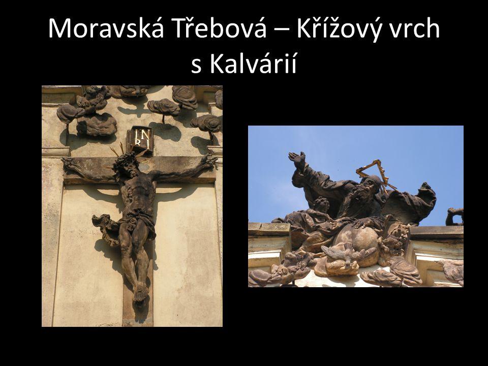 Moravská Třebová – Křížový vrch s Kalvárií