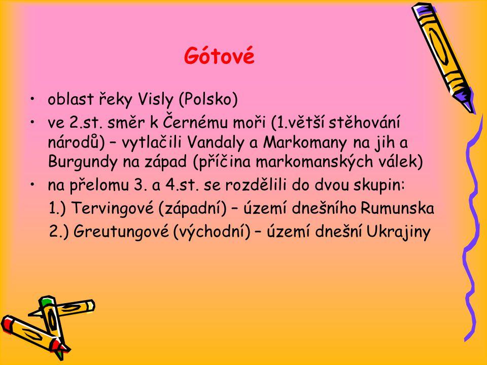 Gótové oblast řeky Visly (Polsko) ve 2.st.