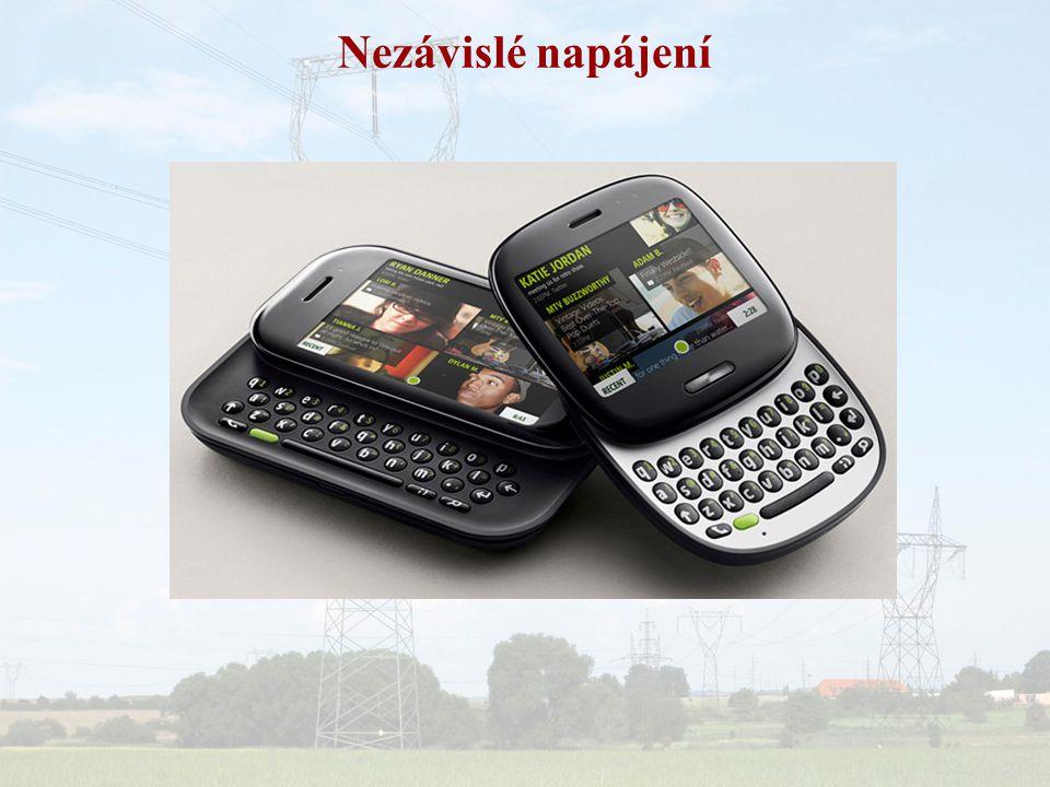 Závislé mobilní napájení
